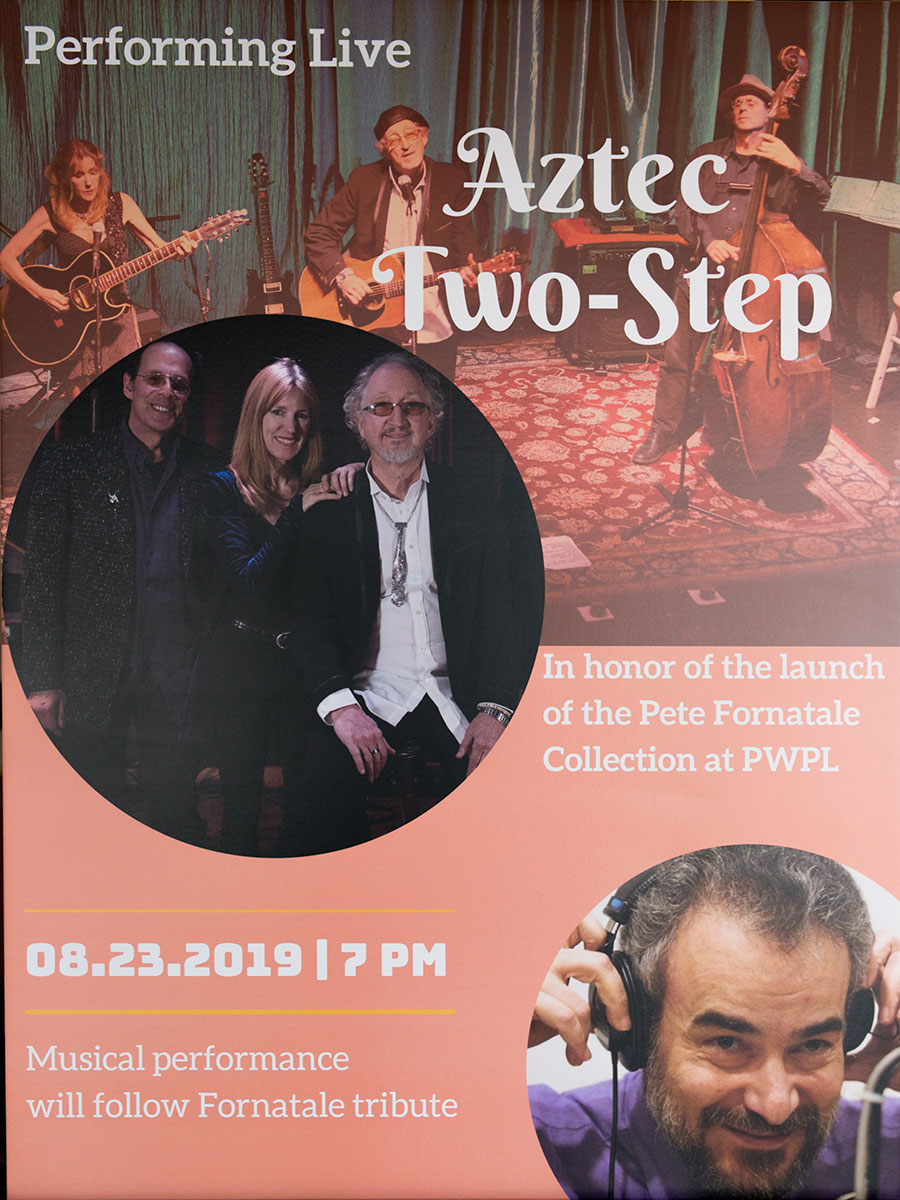 Pete Fornatale Archive Aztec Two-Step