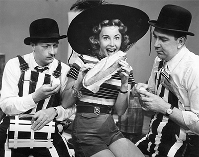 Bob & Ray with Audrey Meadows